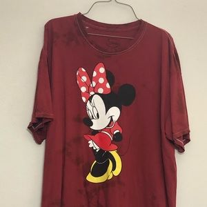Distressed Minnie Mouse T-Shirt